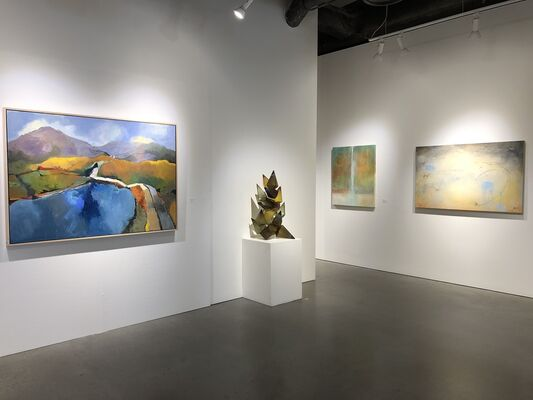 """Summer Selections"" Group Show, installation view"