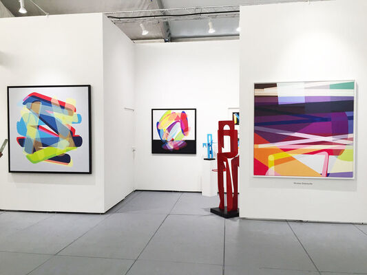 Galerie Duret at SCOPE Miami Beach 2019, installation view