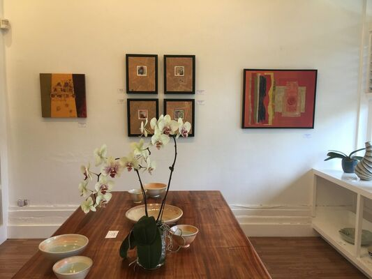 Abroad by Laurie Goldstein, installation view