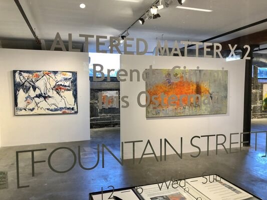 Altered Matter x 2: Brenda Cirioni & Iris Osterman, installation view