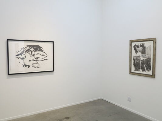 Grayscale: Works in White and Black, installation view