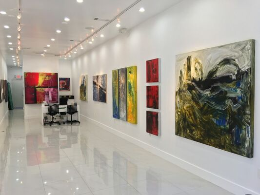 """""""FREEDOM"""" by Shane Townley, installation view"""