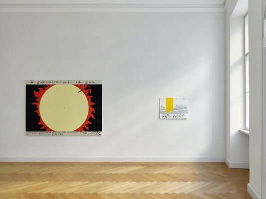 PAVEL PEPPERSTEIN. Abstract Memories, installation view