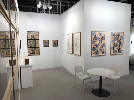 Galerie Lelong & Co. at Art Basel 2019, installation view