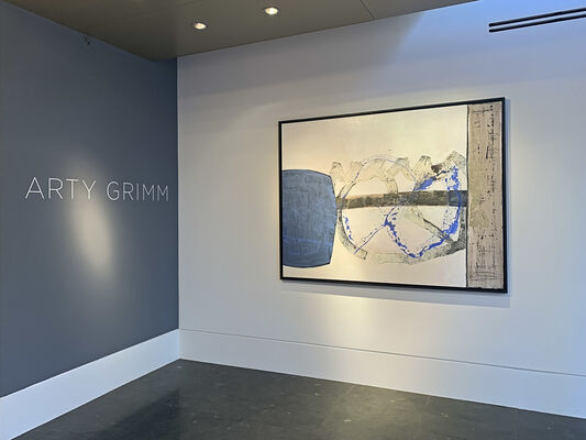 Arty Grimm | Push the Sky Away, installation view