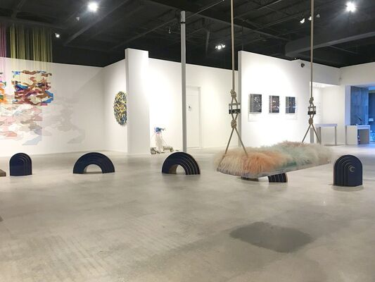 Imaginary Friends by Gabriela Noelle, installation view