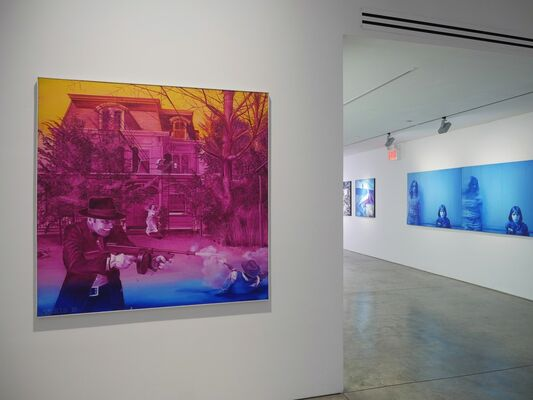 Jacques Monory, installation view