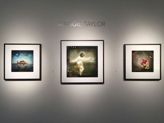 "Maggie Taylor: ""Stranger Things Have Happened"", installation view"