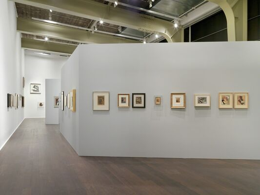 Schwitters Miró Arp, installation view