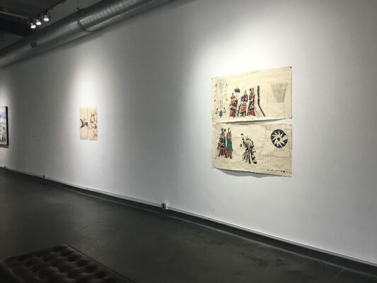 Dead Weight, installation view