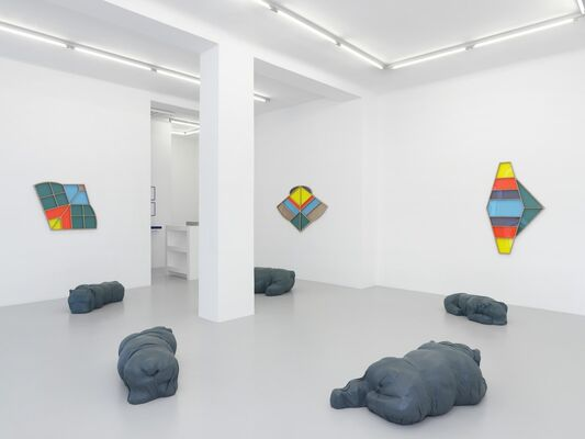 "Denis Savary : ""Eustache"", installation view"