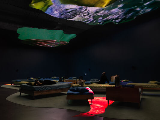 Pipilotti Rist: Pixel Forest, installation view