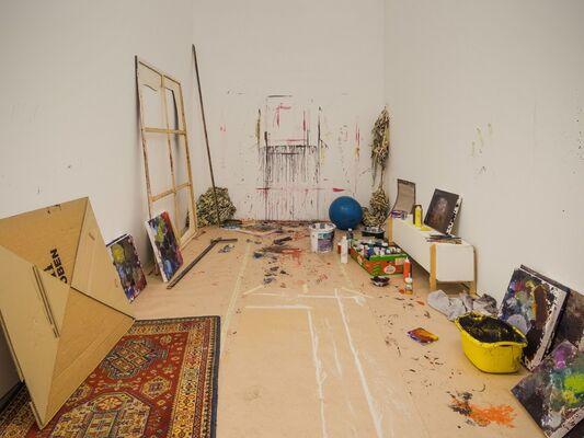 Katrin Heichel: Heim. Ich gehe jetzt, installation view