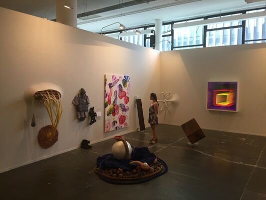 Baró Galeria at SP-Arte 2016, installation view