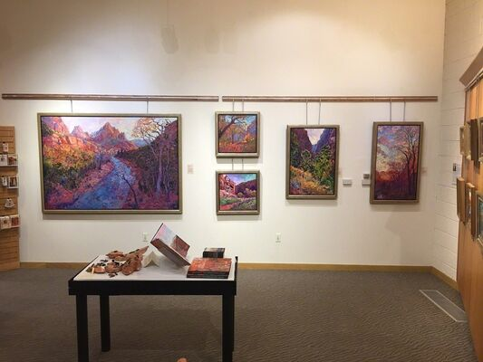 Impressions of Zion, installation view