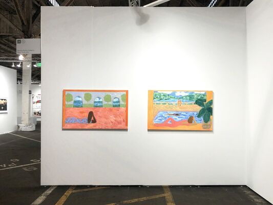 Denny Dimin Gallery at UNTITLED Art, San Francisco 2019, installation view