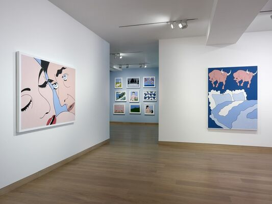 John Wesley: The Henry Ford Syndrome, installation view