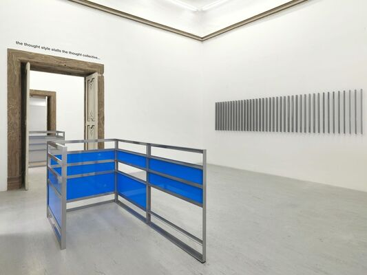 Liam Gillick - Four Developments and a Thought Collective, installation view