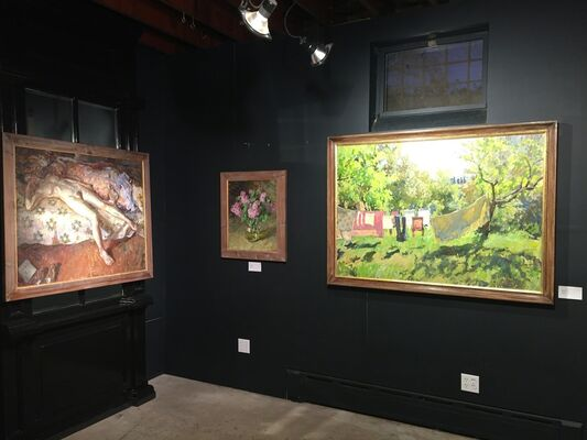 The Russian-American Painting Alliance, installation view