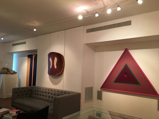out/er.space: Apprehension of Nothingness, installation view