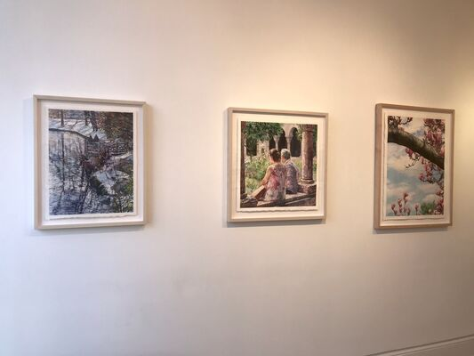 What I Looked at Today, installation view