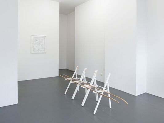 4 x Düsseldorf: Helmut Dorner, Inge Mahn, Natalie Czech, Esther Kläs, installation view