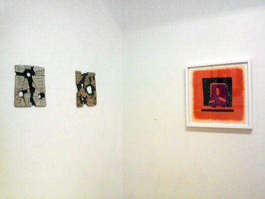 Harold Wortsman: Prints and Sculpture, installation view