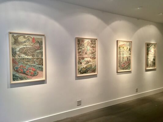 William A. Hall: Symphony of Survival, installation view