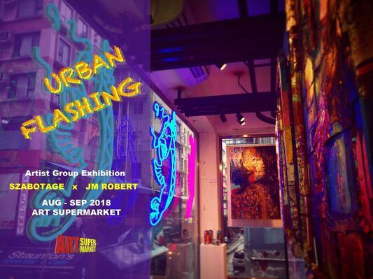 Urban Flashing, installation view