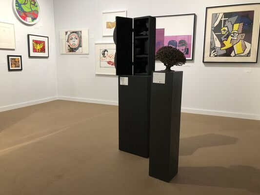 Graeme Jackson at Palm Beach Modern + Contemporary     Art Wynwood, installation view