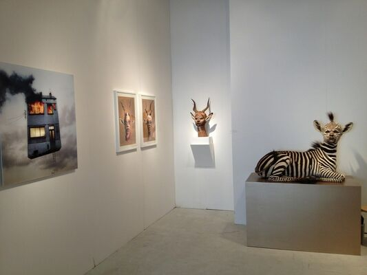 Muriel Guépin Gallery at Miami Project 2013, installation view