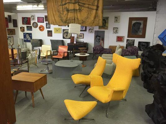 JTG Warehouse Sale, installation view
