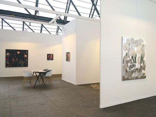 Hans Alf Gallery at Art Brussels 2019, installation view