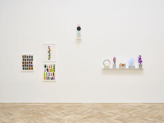 David Batchelor: My Own Private Bauhaus, installation view