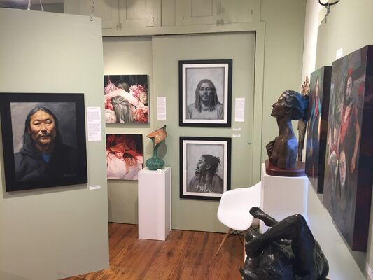 Painting the Figurative Life, installation view