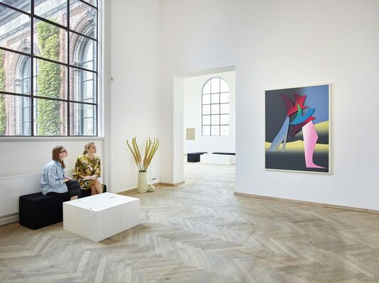 Nils Stærk at CHART | ART FAIR 2018, installation view