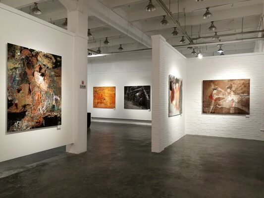 Independent & Image Art Space at Fine Art Asia 2018, installation view