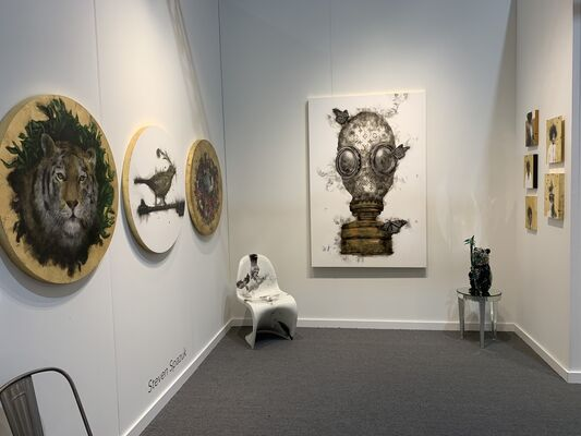 Adelson Galleries at Art Miami 2019, installation view