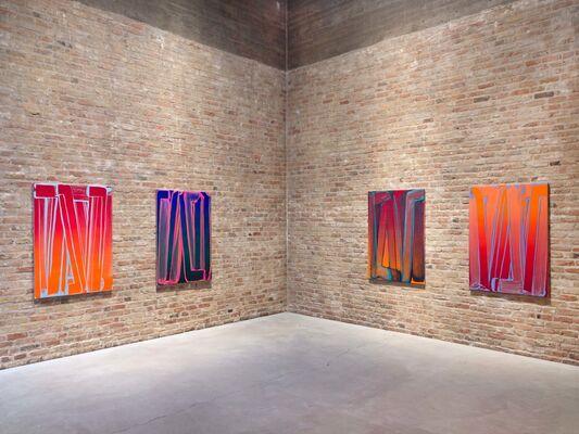 Robert Janitz - <3 ist ein Tippfehler, installation view