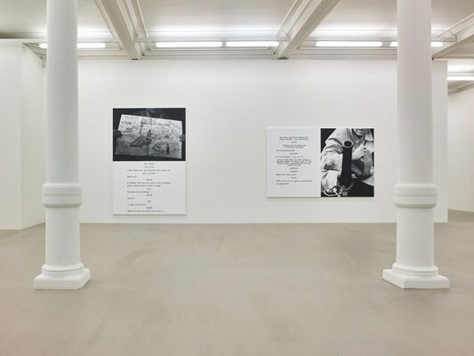 John Baldessari: Pictures and Scripts, installation view
