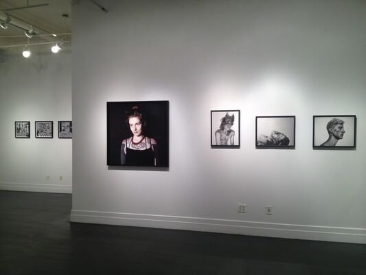ABOUT FACE: The Portrait in Contemporary Photography, installation view