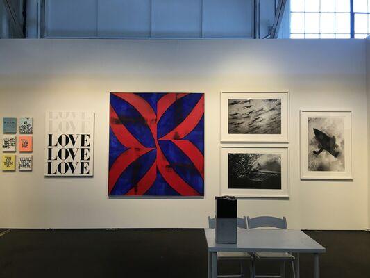 Heather Gaudio Fine Art at Art Market San Francisco 2018, installation view