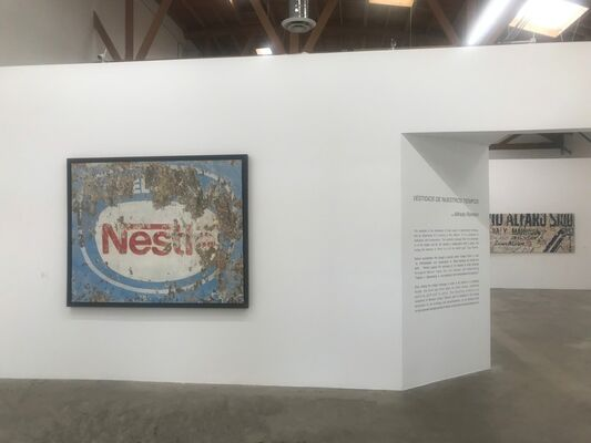 Vestiges of Our Times, installation view