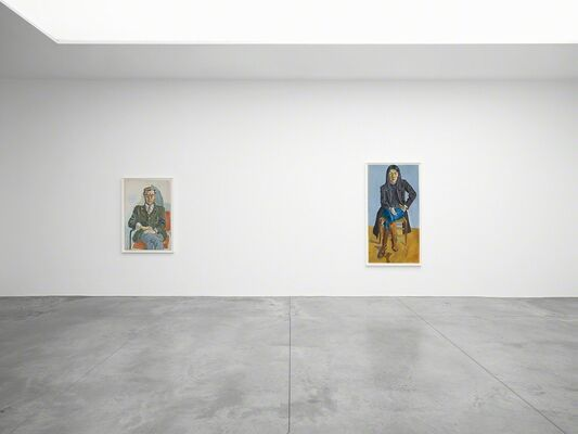 Alice Neel, installation view