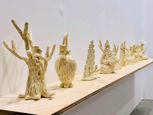 Yiri Arts at Art Fair Tokyo 2019, installation view