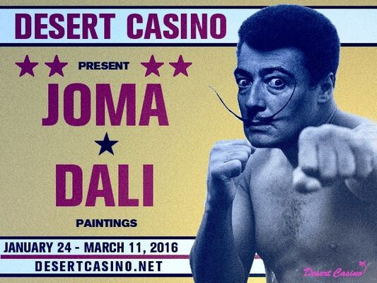 Fight Night: JOMA vs. DALI, installation view