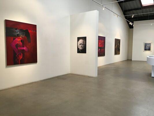 Fernando de Szyszlo: Sombras y Sueños, installation view