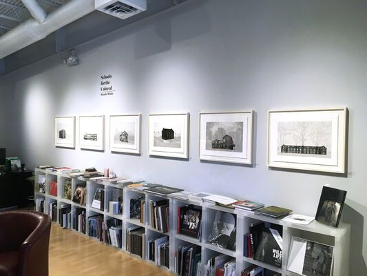 Wendel White: Schools for the Colored, installation view