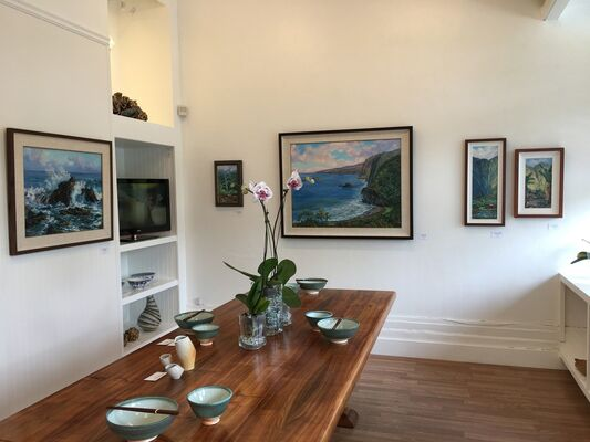 Hawaii Island En Plain Air by Betty Hay Freeland, installation view