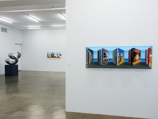 Patrick Hughes | Views of Hughes | Selected multiples, installation view